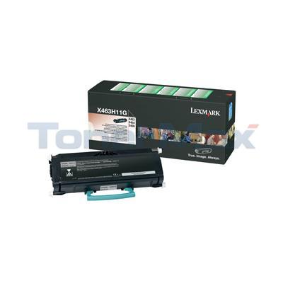 LEXMARK X463DE RP TONER CARTRIDGE BLACK 9K